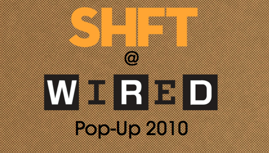 wired  pop up