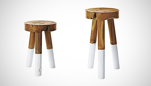 Fine Shft Dip Dyed Stools By Serena Lily Gmtry Best Dining Table And Chair Ideas Images Gmtryco